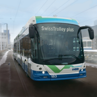 «SwissTrolley plus» bus